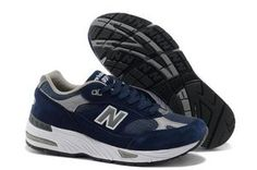 大人気2013【新作】New Balanceニューバランス NB M991NV 深い ブルー グレー Steve Jobs ランニング スニーカー激安通販
