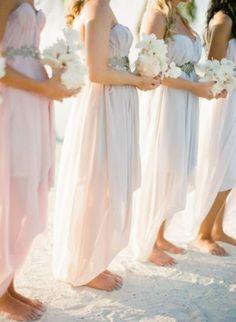 Vestidos de Damas de Honor para Bodas en la Playa 12