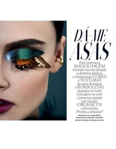 Zuzana Gregorova experiences the butterfly effect for the September 2016 issue…