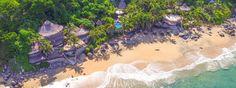 Sayulita beach view from Playa Escondida front