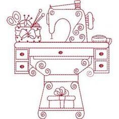 Redwork machine embroidery designs - TheFind