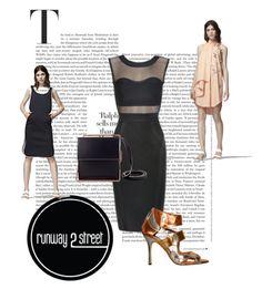 """Runway2Street"" by omerovic-sumea ❤ liked on Polyvore featuring moda, Use Unused, Avery e De Siena"