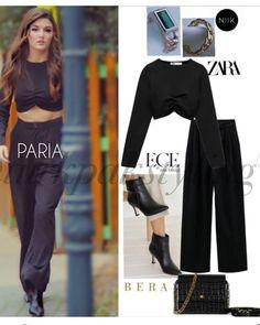 Fashion Tv, Fashion Looks, Fashion Outfits, Turkish Fashion, Korean Fashion, Celebrity Outfits, Celebrity Style, Cute Casual Outfits, Fall Outfits