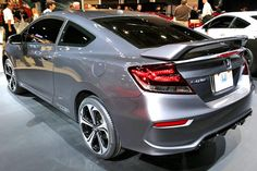2014 Honda Civic Coupe: New Features & Aesthetic Changes