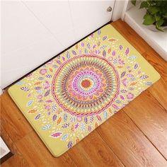 Geometric Print Outdoor Floor Mat