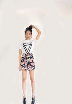 Flower Skirt, Flower Patterns, Ballet Skirt, Skirts, Flowers, Fashion, Moda, Doodle Flowers, Skirt