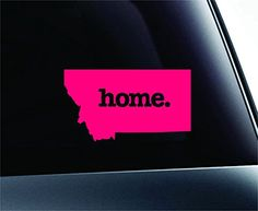 Home Montana State Symbol Decal Funny Car Truck Sticker Window (Pink) ExpressDecor http://www.amazon.com/dp/B00TG2EHEI/ref=cm_sw_r_pi_dp_ki72ub0T7R61C