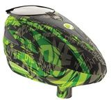 DYE Rotor Paintball Loader- Tiger Lime