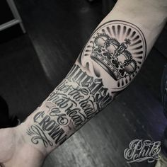 awesome Top 100 crown tattoo - http://4develop.com.ua/top-100-crown-tattoo/