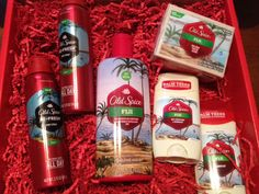 Win a $50 Amazon Gift Card + Old Spice Gift Pack#Combos4Success -