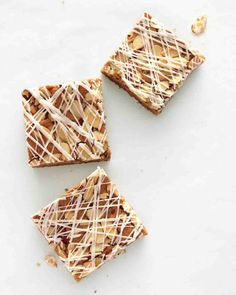 St. Patrick's Day Recipes: Skip the green food coloring. We've raised the bar for Saint Patty's Day desserts. These blondies are enriched with Irish coffee-inspired flavors -- ground coffee in the batter, whiskey in the sugar glaze. And you don't have to pull out the heavy stand mixer: A bowl and a wooden spoon will do.