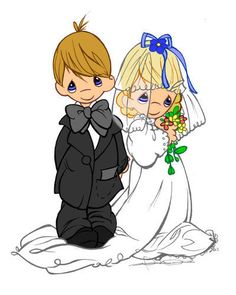 precious moments wedding clipart   Precious Moments Wedding - Precious Moments Fan Art (8525839) - Fanpop ...
