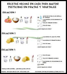 Cómo desinfectar naturalmente Frutas y Hortalizas - Vida Lúcida