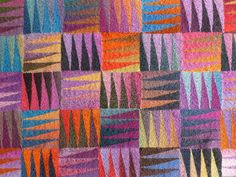 happy blanket. free pattern by Camilla Gugenheim.  knit with sock yarn. ravelry.