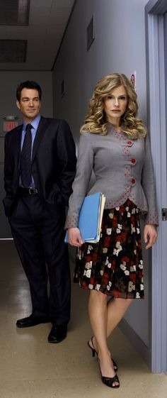 "One of my fave TV couples. Kyra Sedgwick and Jon Tenney, ""The Closer"""