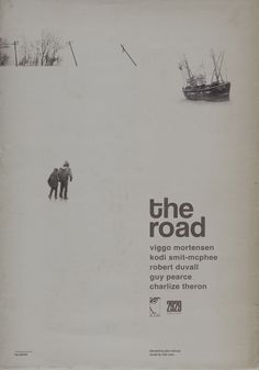 'The Road' (2009) /check behind the scenes photos! /