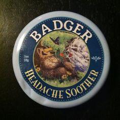 Badger. Headache soother.