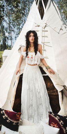 Bohemian Chic Wedding Dress - Inbal Raviv 2017 Wedding Dress