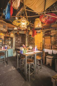 Thaikhun Restaurant, Manchester, UK designed by JMDA and Nothern Lights lighting