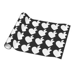 Love Apple Wrapping Paper