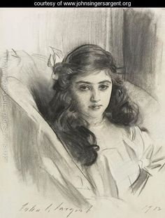 View Rosie Marie-Louise Derenburg by John Singer Sargent on artnet. Browse upcoming and past auction lots by John Singer Sargent. Pencil Portrait, Portrait Art, Portrait Sketches, Life Drawing, Figure Drawing, Daily Drawing, Sargent Art, Beaux Arts Paris, Wow Art