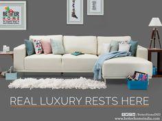 Real Luxury Rests Hear - Better homes  #BetterHome#Furniture   #Ahmedabad   #HomeFurniture