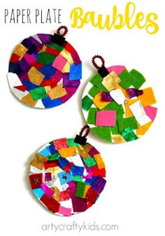 Arty Crafty Kids - Craft - Christmas Crafts for Kids - Paper Bowl . - Arty Crafty Kids – Craft – Christmas Crafts for Kids – Paper Ball # - Christmas Arts And Crafts, Christmas Themes, Holiday Crafts, Christmas Diy, Christmas Ornaments, Childrens Christmas Crafts, Christmas Crafts For Kids To Make Toddlers, Christmas Art Projects, Paper Ornaments
