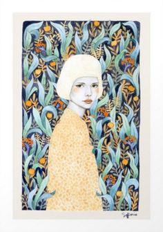 Emilia Art Print   Sofia Bonati at Society6