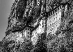 Sumela monastery in Macka