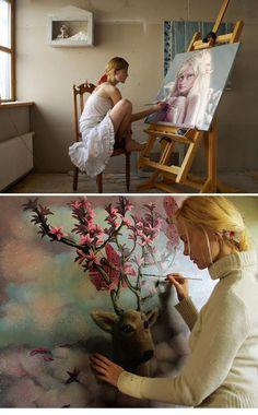 Jana Brike working
