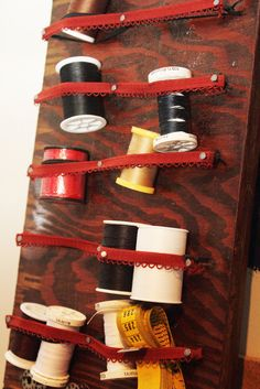Great idea for storage!  Maybe for a spice rack?