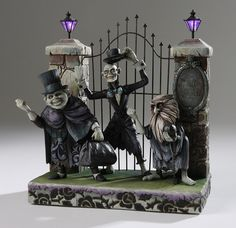 Want/almost NEED!  Disney 40th Anniversary Hitchhiking Ghost Haunted Mansion Figurine by Jim Shore | eBay