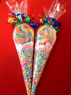 Excited to share the latest addition to my shop: Sweet cones Birthday Party Treats, Cute Birthday Gift, 10th Birthday Parties, Candy Favors, Candy Gifts, Sweetie Cones, Play Therapy, Therapy Activities, Speech Therapy