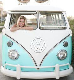 1967 Volkswagen Van  via  Sweet Vintage Caravan Co.