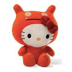 Hello Kitty Uglydoll Wage 7-Inch Plush