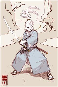 Usagi sketch by Inkthinker Character Concept, Character Art, Character Design, Ninja Turtles Art, Teenage Mutant Ninja Turtles, Ghibli, Ronin Samurai, Usagi Yojimbo, Japanese Warrior