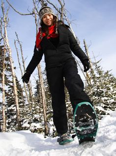 Beginner tips for snowshoeing! A great way to stay in shape through winter!   PS: Out N Back rents Snowshoes starting at $10/day!