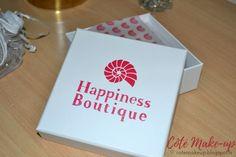 Côté Make-Up | Beauté & LifeStyle: Découverte des bijoux Happiness Boutique