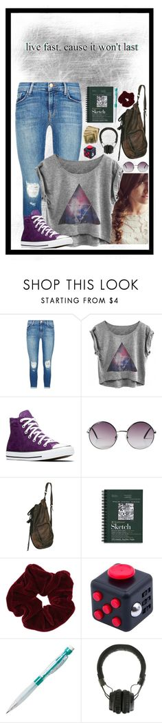 """""""R T D"""" by layla1288 ❤ liked on Polyvore featuring J Brand, Converse, Monki, Miss Selfridge and Marshall"""