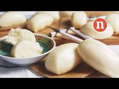 Steamed Chinese Buns   Mantao   Mantau   Steamed Bao   馒头 [Nyonya Cooking] - YouTube