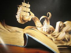 A book octopus! #literaryart http://writersrelief.com/