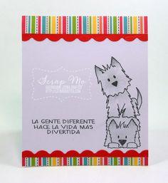 Latina Crafter - Sellos en Español: Desde el Taller de Mo: Flogger Juguetón