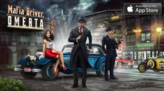 Play a realistic driving and parking simulator - Mafia Driver: Omerta, with immersive prohibition-era mobster atmosphere and stunning vintage car collection. Driver App, Car And Driver, Police Patrol, Police Cars, Mafia, Al Capone, Fast Times, Games For Girls, Monster Trucks