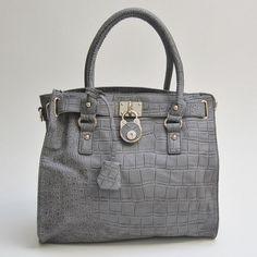Natalie Satchel in Grey $69.50