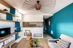 Rénovation complète d'un appartement de 30m² à Paris, Transition Interior Design - Côté Maison