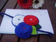 Diademas - Diadema flor ref:003 - hecho a mano por KENZA-COMPLEMENTOS en DaWanda