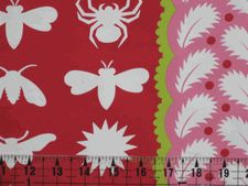 Free Spirit Night Life Strawberry Home Décor Fabric by Jane Sassaman