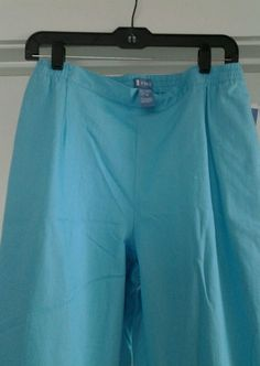 Ladies Koret Light Turquoise Casual Pants sz 10  Cotton, Polyester, Spandex  | eBay