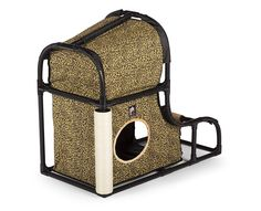 Prevue Catville Loft Cat Furniture >>> Continue to the product at the image link. (This is an affiliate link) Wooden Cat, Wooden House, Sisal, Cat Tree Condo, Outdoor Cats, Large Animals, Cat Furniture, Litter Box, Wood Colors