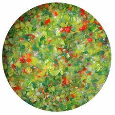 Secret Garden Frit Blend, 1 oz - 90 COE